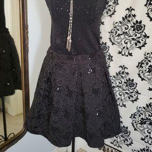 Betsey Johnson Stunning Black skirt